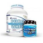 Puro Performance Whey 2kg + Glutamina - Performance Nutrition