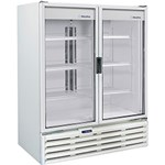 Ficha técnica e caractérísticas do produto Refrigerador Metalfrio 2 Portas Vertical VB99R Expositor Porta Dupla de Vidro para Bebidas 1.186 Litros - Branco