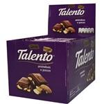 Tablete Chocolate Amêndoas e Passas 12x90G - Garoto
