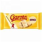 Ficha técnica e caractérísticas do produto Tablete de Chocolate Branco 90g - Garoto