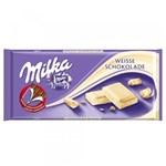 Ficha técnica e caractérísticas do produto Tablete de Chocolate Weisse Branco 100g - Milka