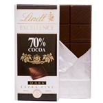 Tablete Excellence 70% Cocoa Dark Extra Fine Chocolate 100g - Lindt