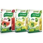 Tisana Chá Kit com 3 Sabores Amora, Uva Verde e Limão - Maxinutri