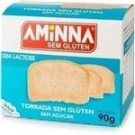 Torrada Sem Açúcar 90g - Aminna