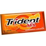 Trident Mix Tangerina e Laranja 5 Unidades - Mondelez