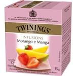 Twinings Of London Cha Morango e Manga Caixa com 10 Saches