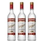 Ficha técnica e caractérísticas do produto Vodka Stolichnaya 750ml 03 Unidades