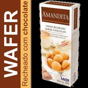 Ficha técnica e caractérísticas do produto Wafer Recheado Amandita 200g